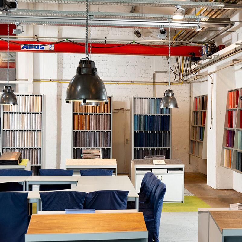 Showroom Bodenbeläge Kurt Kunze GmbH