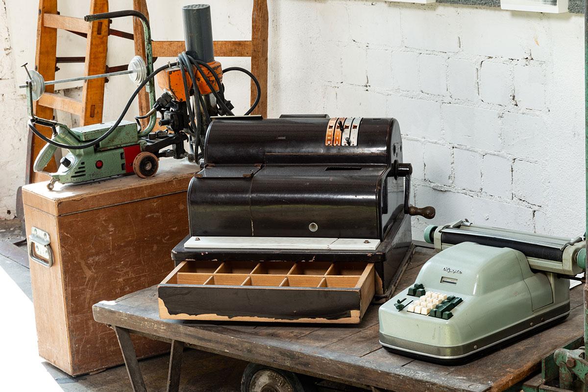 Historische Geräte