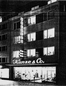 Kurt Kunze GmbH 1951